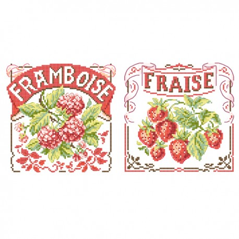 « Fruits rouges » 2 charts