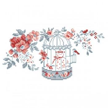 Grille « Cage romantique »