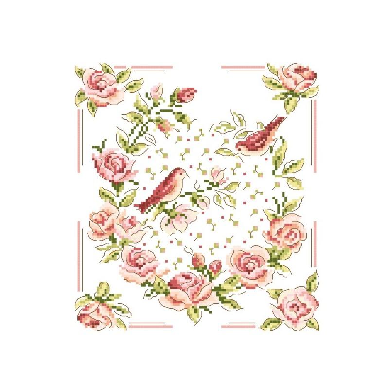 Grille « À la rose »