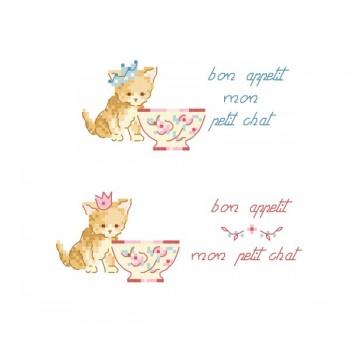 2 Grilles « Mon petit chat »
