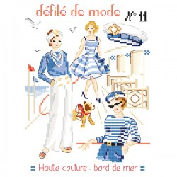 Fashion show N° 11 «haute couture at the seaside» chart