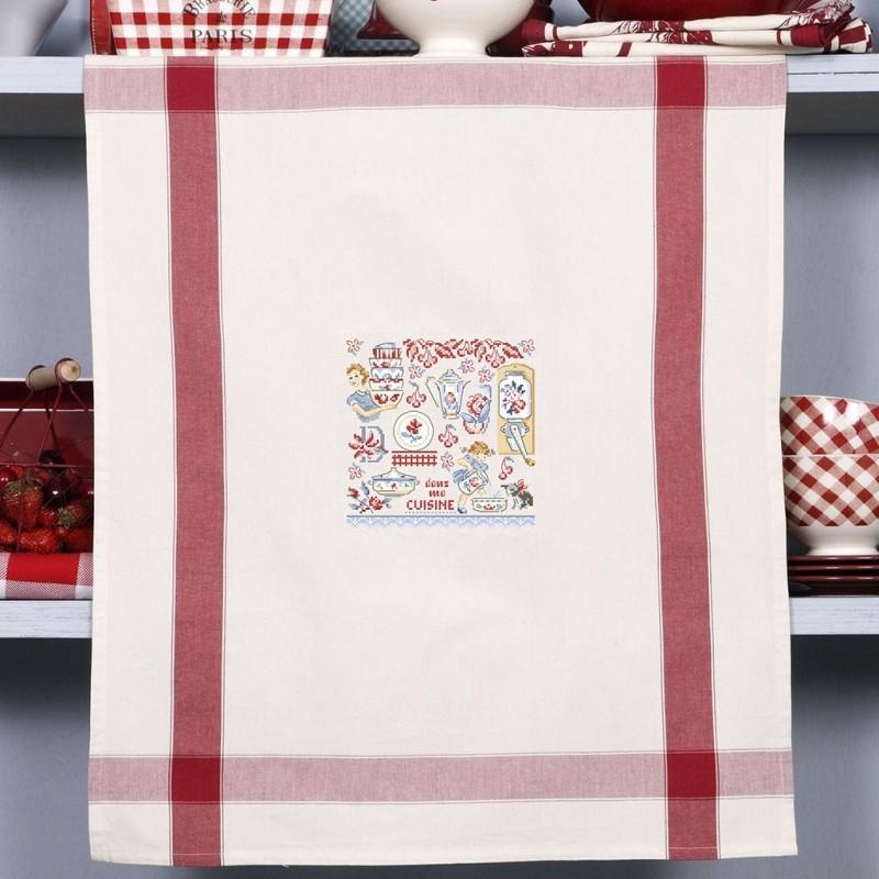 Aïda « Fait maison » Tea Towel