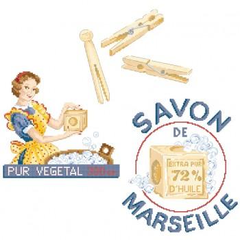 Grille «Savon de Marseillel»