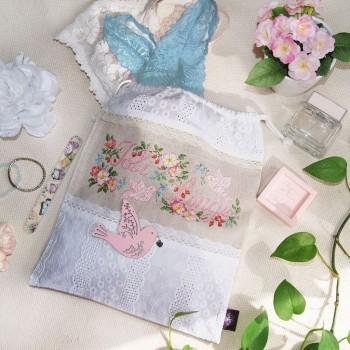 Aïda «Joli Linge» Drawstring pouch