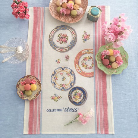 Aïda  «Sevres Collection» Tea towel