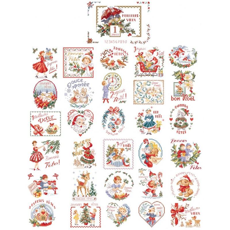 La grande histoire des « Cartes de vœux brodées »