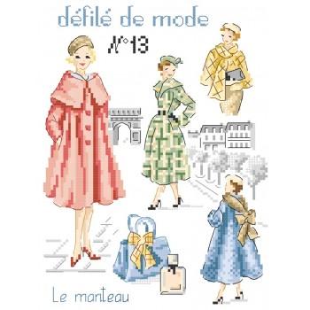 Grille : Défilé de mode N°13 «Le manteau»