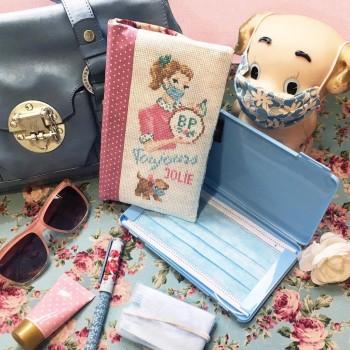Aïda « Always pretty »  Masks case's Pouch