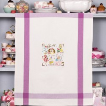 Aïda «Digoin» Tea Towel