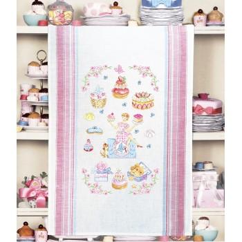 Aïda  «Niderviller Collection» Tea towel
