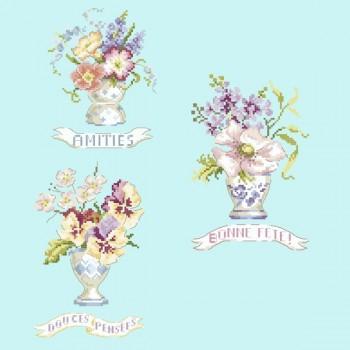 Grille «Des mots et des fleurs»