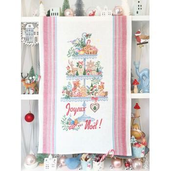 Aïda «Sweet Christmas» Tea towel