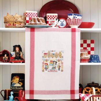 Aïda «Sweet Alsace» Tea Towel