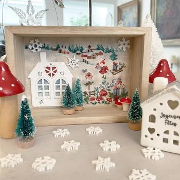 AÏda : La vitrine « Miniature de Noël »