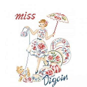 Grille : Miss « Fan de Digoin »