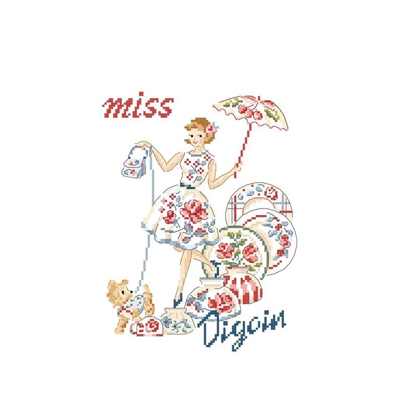 Grille : Miss «Fan de Digoin »