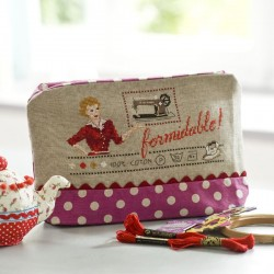 Maxi trousse « Formidable » Rose Lin