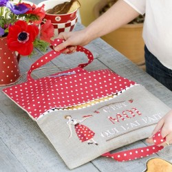 Linen « All by myself ! » Pie bag