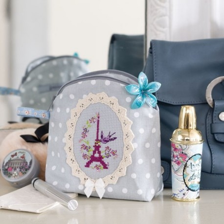 Mini trousse prune