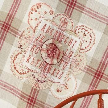 Linen « Digoin » Tea towel