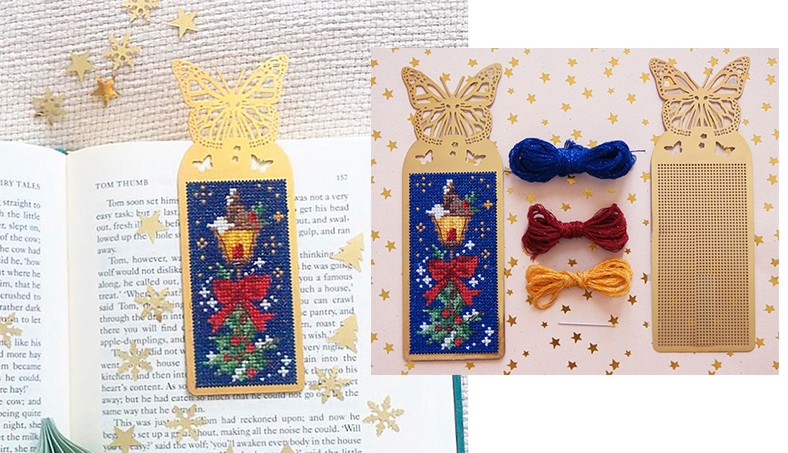 A « Sparkling » bookmark