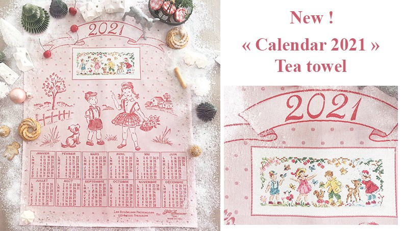 « 2021 Calendar » Tea towel