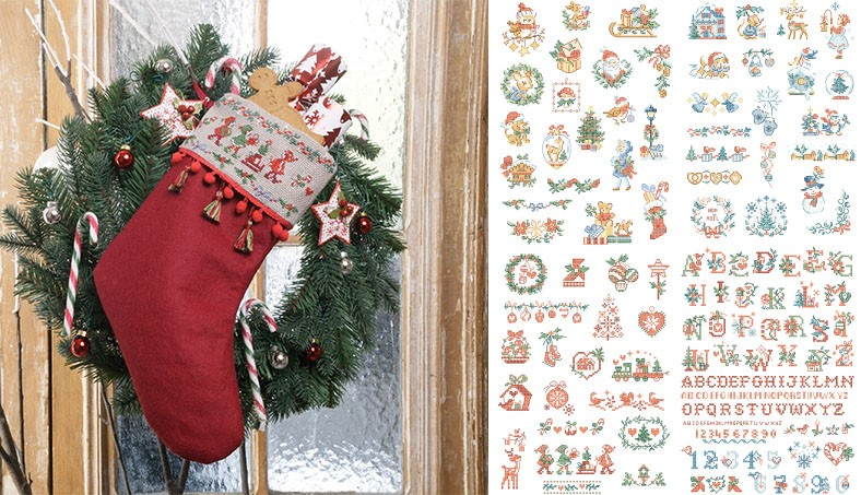A special story of Christmas mini motifs